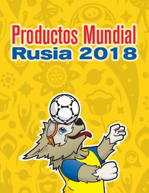 Catálogo Productos Mundial Rusia 2018